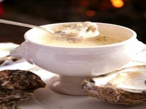 Oyster Soup With Herbs