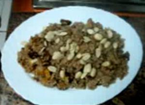 Dry Fruit And Walnut Rice