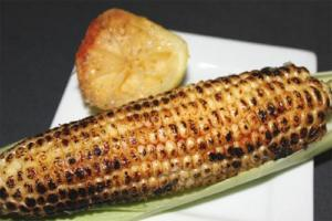 Lemon N Dill Barbecued Corn On The Cob