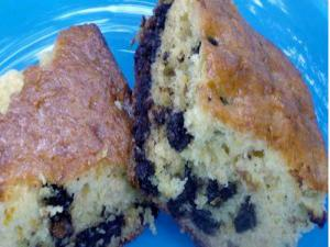 Orange Chocolate Chip Snack Cake