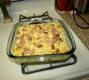 Ham, Potato, and Onion Casserole