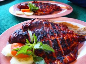 Balinese Grilled Mackerel - Ikan Bumbu Bali