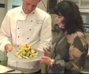 Mille Fleurs Restaurant's Exotic Seafood Salad