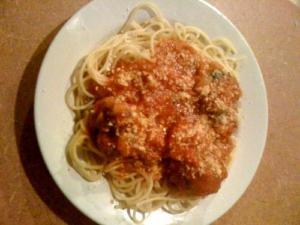 Lamb And Spaghetti Primavera