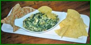 Cookin' Greens Chopped Spinach and Artichoke Dip