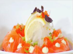 Dash Gastropub - Salmon Crudo