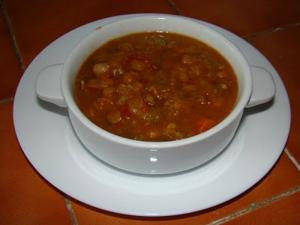 Slow Cooker Bean Soup