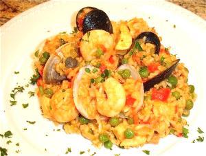 Healthy Paella