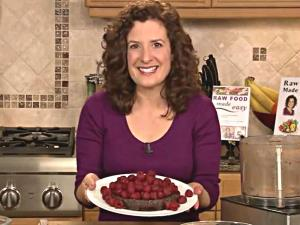 Raw Food Chocolate Recipe: Flourless Chocolate Cake