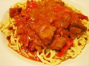 Hungarian Goulash With Chuck Steak