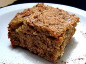 Peanut Butter Apple Cake