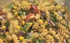Healthy Whole Wheat Pasta Salad