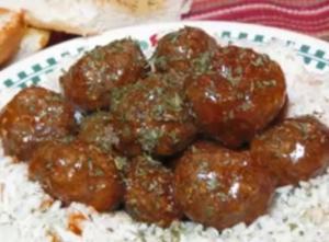 Beef BBQ Meatballs