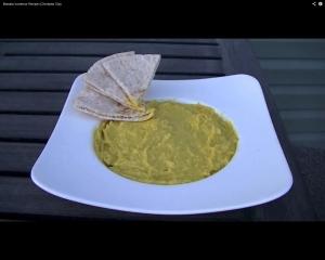 Masala Hummus (Chickpea Dip)