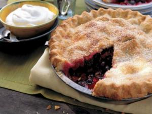 Montana Huckleberry Pie