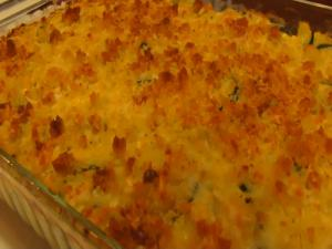 Betty's Superb Squash and Corn Casserole
