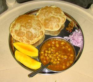 Deep Fried Bhature