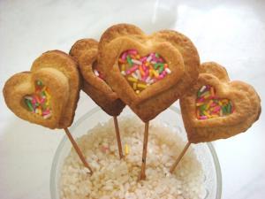 Homemade Heart shaped Cookies