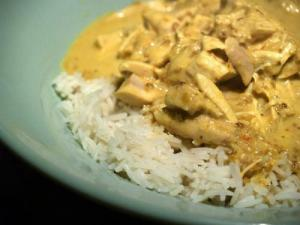 Quick Curried Chicken