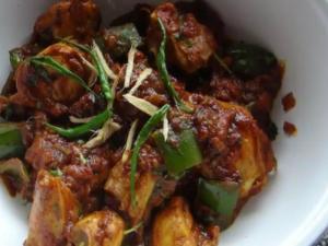 Kadhai Chicken / Kadai Chicken