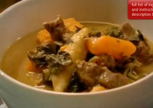 Beef Pepperpot Stew with Spillers Dumpling