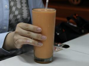 Papaya Milk Shake