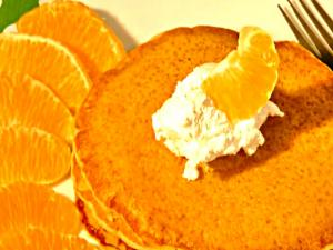 Orange Pancake - Quick and Easy