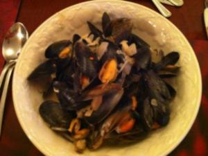 Mussels with Black Bean and Coriander