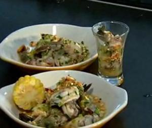Shrimp Ceviche: Michelle Bernstein