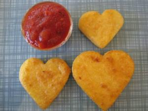 Polenta Shapes for Children