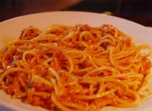 Italian Macaroni Or Spaghetti