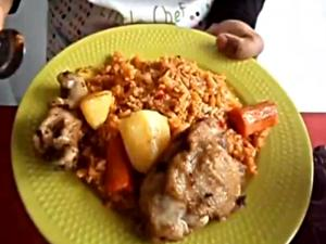 Jollof Rice - African Food
