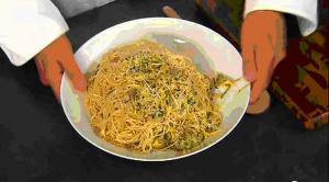 Scrumptious Summer Squash Mixed With Angel Hair