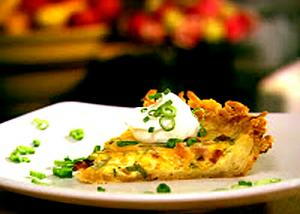 Hash Brown Quiche