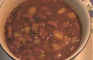 Red Kidney Bean Stew