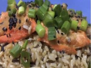 Healthy Eating - Ginger Miso Salmon