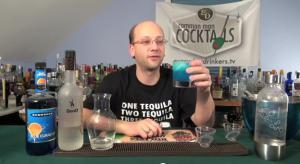 The Papa Smurf Cocktail