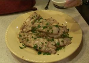 Healthy Grilled Grouper