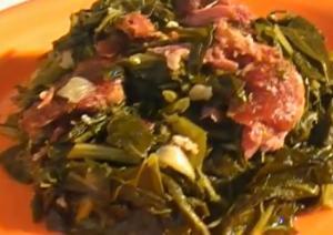 Southern Style Meaty Collard Greens