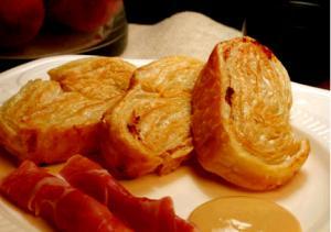 Crispy Prosciutto Palmiers