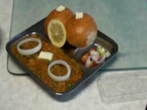 Pav Bhaji - Indian Vegetarian