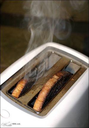 burnt food odor