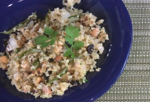 Spicy Indian Style Quinoa