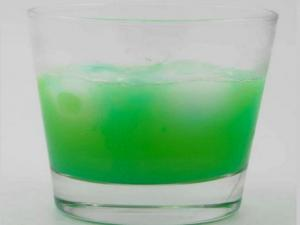 The Blue Pool Cocktail