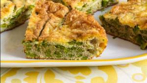 Reduced Fat, High Protein, Potato Frittata