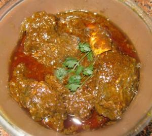 Spicy Mutton