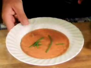 Fragrant Cream of Tomato Soup