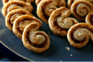 Cheese And Ham Spirals
