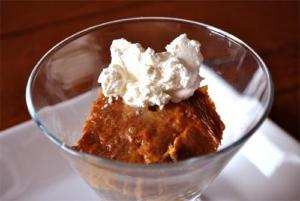 Steamed Molasses Pudding