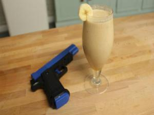 Geek Week: Lara Croft's Peanut Butter Power Breakfast Smoothie